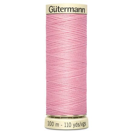 Col. 043 Gutermann Sew All Thread 100m - Cameo Pink