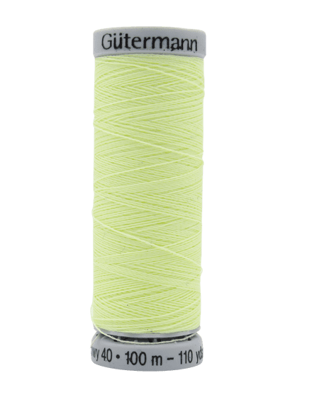 Col. 1 Gutermann Glowy 40 - Glow in the Dark Embroidery - 100m