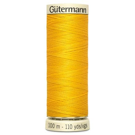 Col. 106 Gutermann Sew All Thread 100m - Golden Yellow