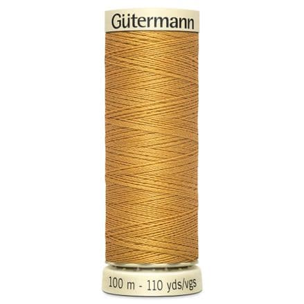 Col. 968 Gutermann Sew All Thread 100m - Jeans Gold