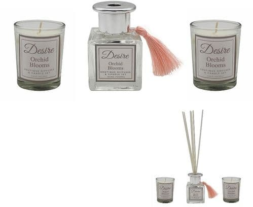Orchard Blooms Diffuser and Candle Gift Set