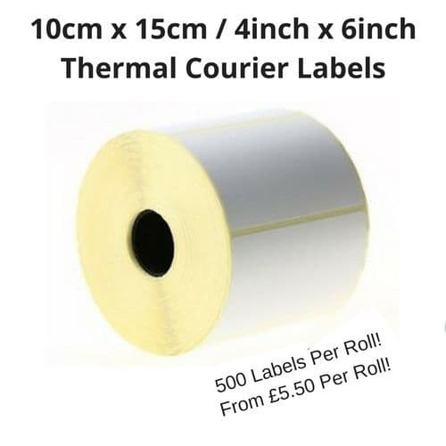 Thermal Courier Labels
