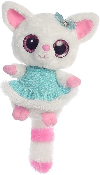 Aurora YooHoo And Friends 8-Inch Pammee Blue Dress Kids Soft Cuddly Teddy