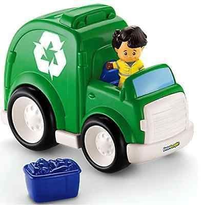 Fisher-Price Little People, Car, Helicopter or Recycling Truck 1-5 Years