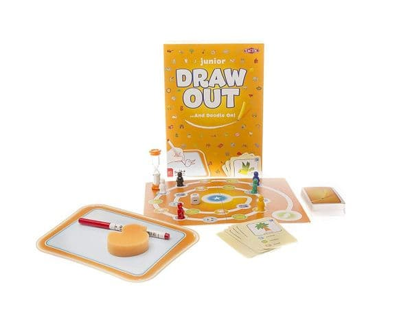 Junior Draw Out - Family - Kids Game By Tactic Games