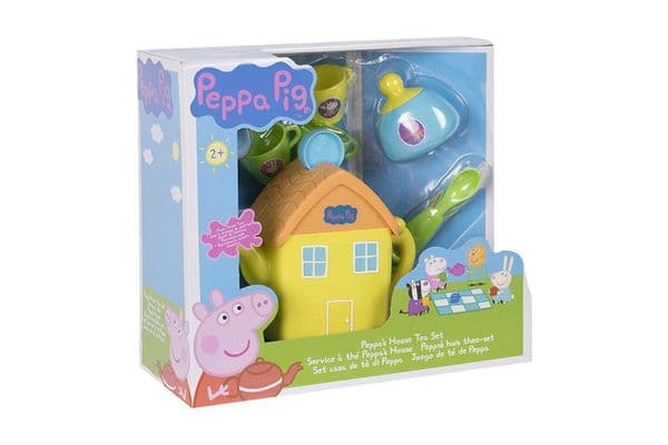 New Peppa Pig House Tea Set With Lights,Theme Tune And Sound Effects