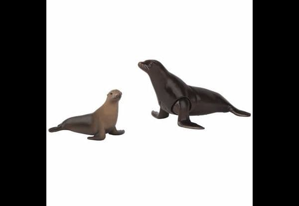 Tomy Ania Sea Lion with Baby