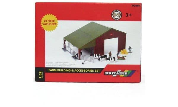 Tomy Britains Farm Building & Accessories toy playSet 23 Pieces
