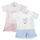 Baby  girls summer shorts and top set from 0-3 months