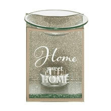Home sweet home glass wax melt oil/wax  melt burner