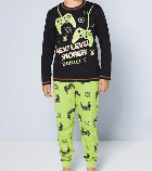 Personalised boys gaming pyjamas next lever snorer