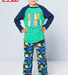 Personalised boys roar dinosaur Pyjamas