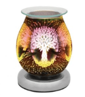Tree of life  design electric aroma lamp for wax melts/oils & free gift