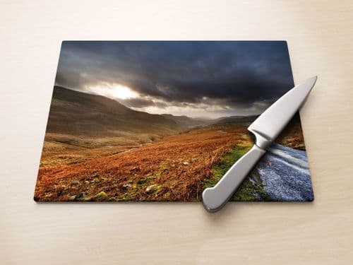 Hardknott Pass - Glass Worktop Saver