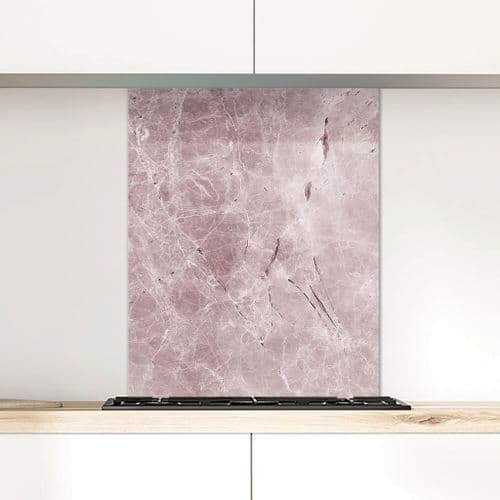 Rose Whisper - Glass Splashback