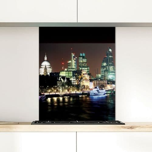 St Paul's Cathedral and the City of London - Glass Splashback