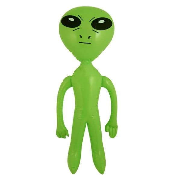 Green Inflatable Alien Toy (60cm)