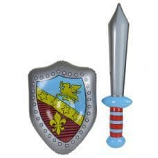 Inflatable Knigh Sword & Shield Set