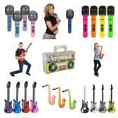 Inflatable Musical Instruments