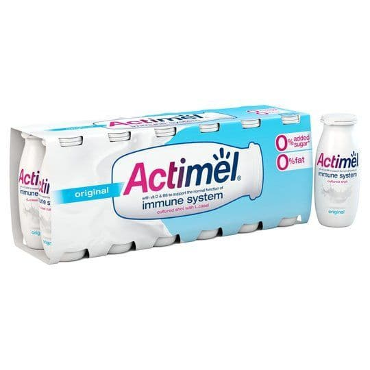 Actimel Fat Free Original Yoghurt Drink 12x100ml