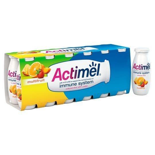 Actimel Multifruit Yoghurt Drink 12x100g