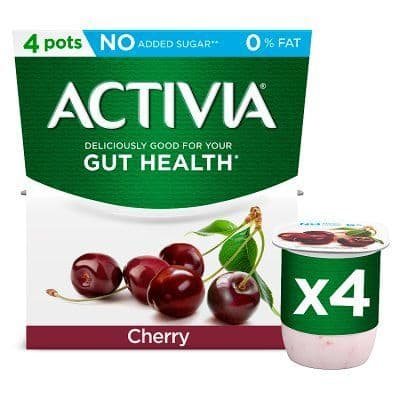 Activia 0% Fat Cherry Yoghurt