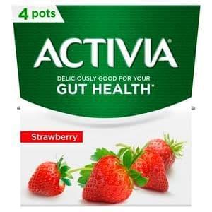 Activia Strawberry 4x120g