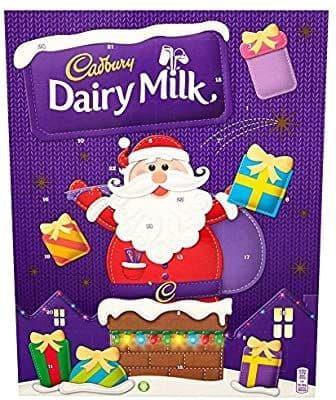 Advent Calendar Cadbury Dairy Milk 90g
