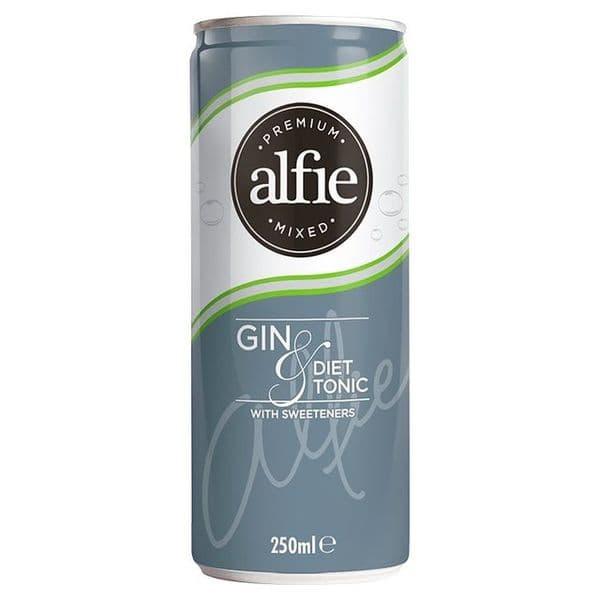 Alfie Gin & Diet Tonic 250ml