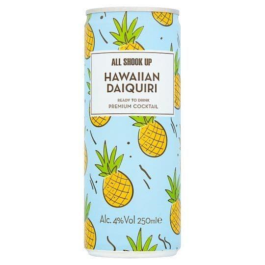 All Shook up Hawaiian Daiquiri Cocktail 250ml