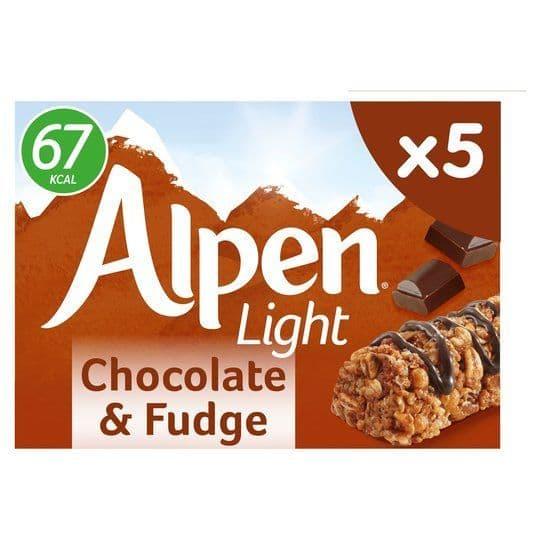 Alpen Light Chocolate Fudge Bars