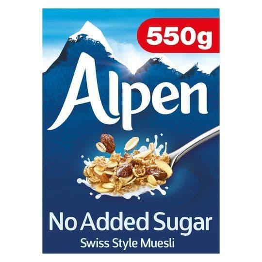 Alpen NAS Muesli 550g