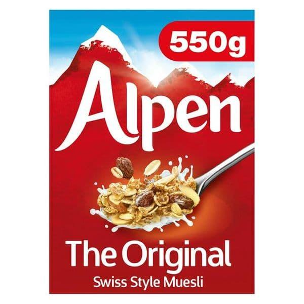 Alpen Original Muesli 550g