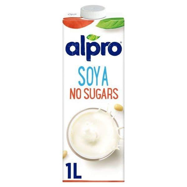 Alpro Soya Unsweetened Long Life Drink 1L