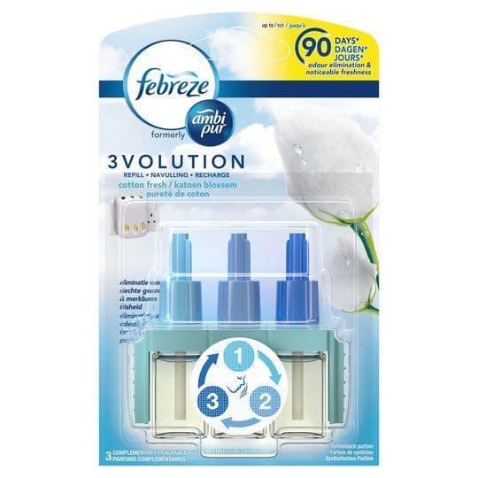 Ambi Pur 3Volution Refill Cotton Fresh 20ml