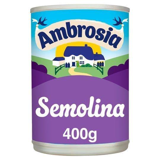 Ambrosia Semolina 400g