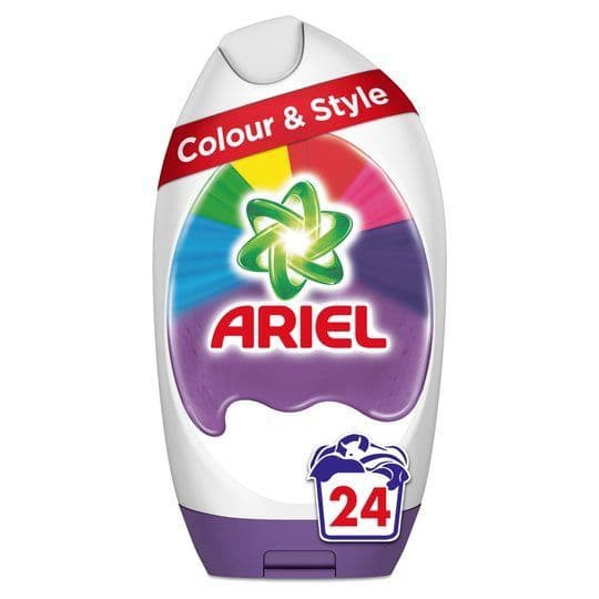 Ariel Excel Gel Colour 24w 888ml