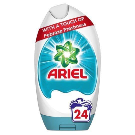 Ariel Excel Gel With Febreze 24w