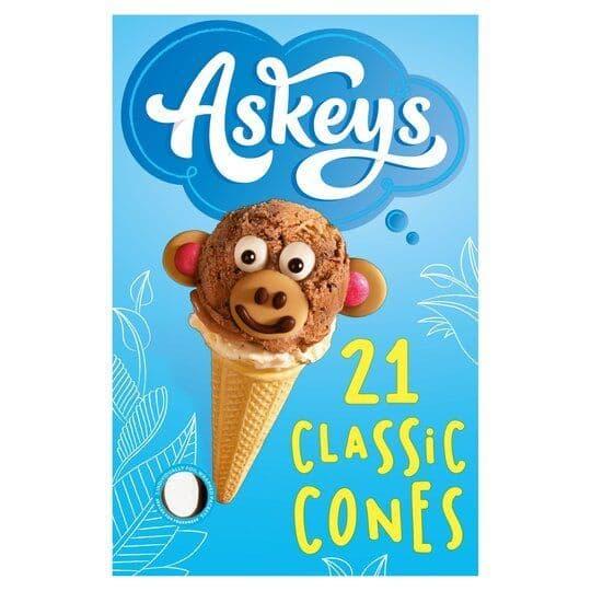 Askeys 21 Classic Cones