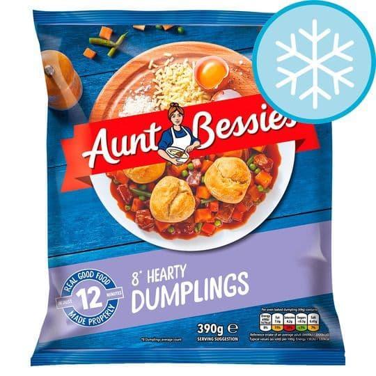 Aunt Bessies Dumplings 390g