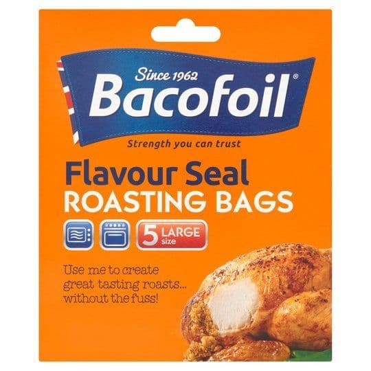 Bacofoil Large Oven Bags Easy Roast 5pk