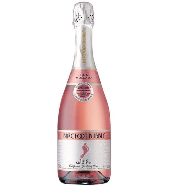 Barefoot Bubbly Pink Moscato 75cl
