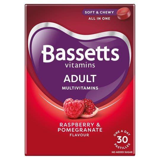 Bassetts Adult Multivitamins Raspberry & Pomegranate