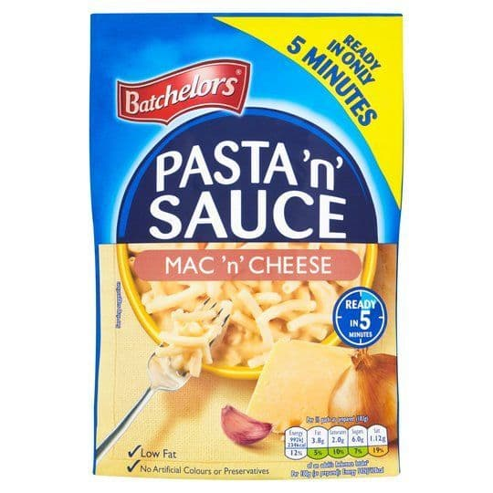 Batchelors Pasta N Sauce Mac N Cheese 99g