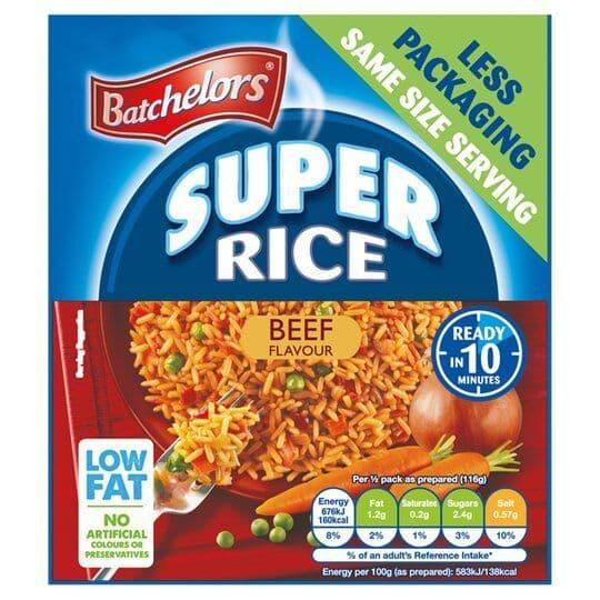 Batchelors Super Rice Beef 90g