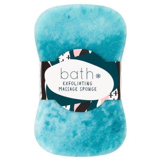 Bath Essentials Exfoliating Massage Sponge
