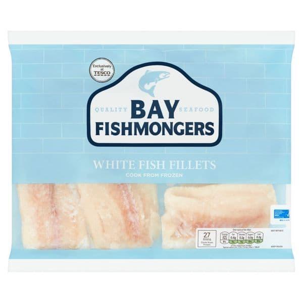 Bay Fishmongers White Fish Fillets 520g