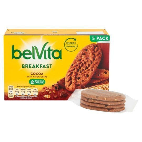 BelVita Chocolate Chip Biscuits 225g