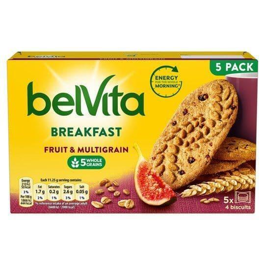 BelVita Fruit & Mulitigrain 225g