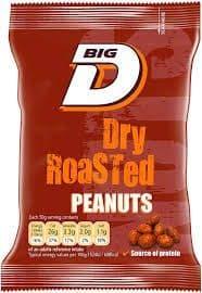 Big D Dry Roasted Peanuts